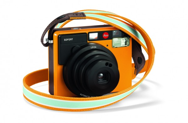 Leica SOFORT Trageriemen, orange