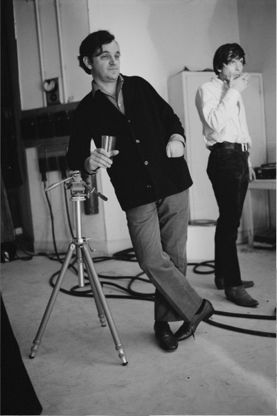 "Michael Friedel ""Bert Stern und David Bailey, Starfotografen"", Studio London, England, 1968"