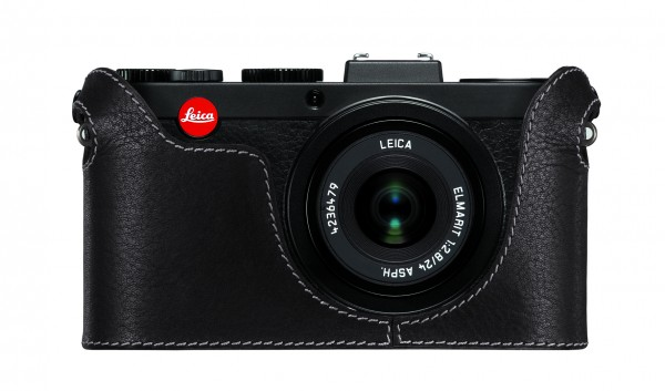 Leica Protector X, Leather, Black