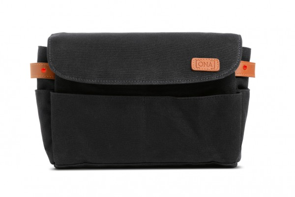 ONA Bag, The Roma, Canvas, schwarz